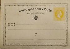 J) 1898 AUSTRIA, POSTCARD, CIRCULATED COVER, XF