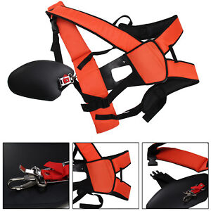 Deluxe Padded Strimmer Brushcutter Double Harness Universal Double Shoulder UK