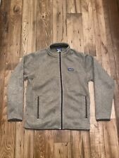PATAGONIA ~ Men's Better Sweater Full-Zip Jacket ~ Sz L Large ~ Pale Khaki ~ VGC
