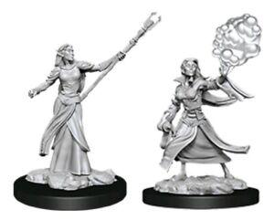 Dungeons & Dragons - Nolzurs Marvelous Unpainted Minis: Female Elf Sorcerer-W...