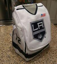 LA Los Angeles Kings Mascot Bailey White Home Jersey # 72 Lunch Bag Cooler SGA