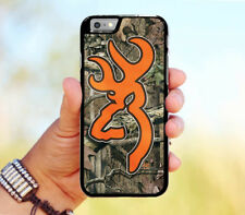 browning mossy oak camo orange Hybrid Case for iPhone 6 6+ 6s 6s+ 7 7+ 8 8+ X