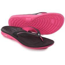 NEW New Balance Womens Cush Thong Sandal,  Size 6 B(M) US, Black/Knockout Pink