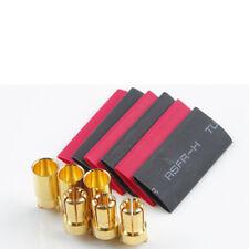 conectores de oro y toma 6.0mm 3 pares con tubo termorretráctil Hype 086-1070 7