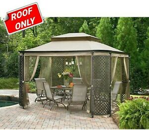 Sunjoy Replacement Canopy 9'x9' L-GZ278PST-1-TU-DELUXE