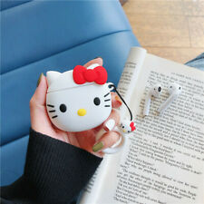 Cute Hello Kitty Earphone Bag Cover for Apple Airpods Charging Case Holder Gift