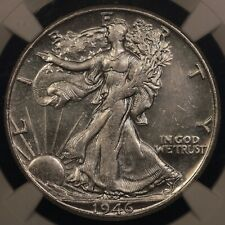 1946 S WALKER NGC MS64* STAR BLAST WHITE AND Semi-PROOFLIKE!!!
