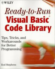 Ready-to-Run Visual Basicr Code Library: Tips, Tricks, and Workarounds for Bet