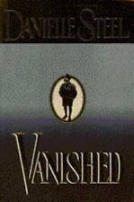 Vanished A Novel By Danielle Steel Used Book Hardback W/Dust Cover