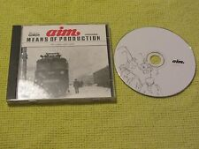 Aim - Means Of Production (The Singles 1995-1999) CD Album Downtempo Electro
