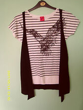 George Striped Cotton Blend Other Tops for Women