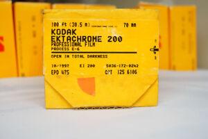 Bulk roll 70mmx100ft slide film - Kodak Ektachrome 200 - Sealed E6 - FROZEN