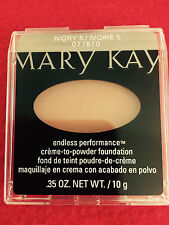 Mary Kay ENDLESS PERFORMANCE Creme to Powder Foundation IVORY 5 FORMERLY BEIGE 2