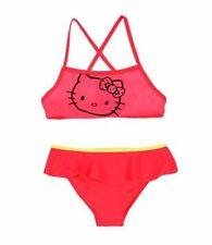 Bikini rosso per bambine dai 2 ai 16 anni