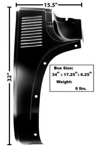 1947-54 Chevrolet Pickup Cowl Outer Lower Panel - RH New