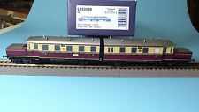 Liliput 133503 Two-Piece Battery-Powered Railcars at 485/486 DRG