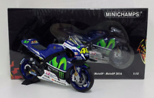 MINICHAMPS VALENTINO ROSSI 1/12 MODEL YAMAHA M1 TEAM MOVISTAR MOTOGP 2016