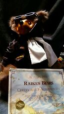 Robert Raikes Signed Lindy Glamour Bears of the 1920's 1986 In Box