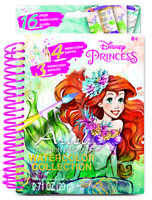 Make It Real Disney Princess Ariel Watercolour Painting Book Crafting Fashion