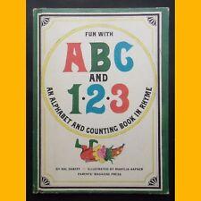 ABC and 1.2.3 An alphabet and counting book rhyme Hal Dareff Marylin Hafner 1965