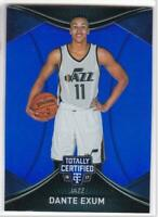 2016-17 Panini Totally Certified Blue #/99 Dante Exum Utah Jazz Basketball Card