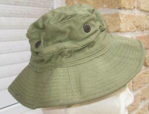 """Chapeau de Brousse GB """"Jungle Pattern 1944"""" daté 52"""