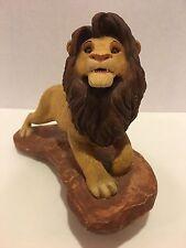 Sandra Brue Sandicast adult Simba The Lion King Figurine - Rare & Hard to Find!
