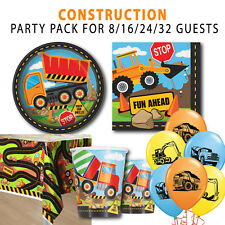 Party Supplies Builder Tools Boys Birthday Handyman Pack for 8 Guests