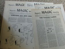 4000issues Hugard's Magic Monthly Magazine Ad 2795