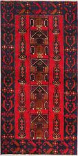New Handmade Vintage Persian Tribal Carpet  Rug 6'.2''x3'.6'' ft/192x110cm