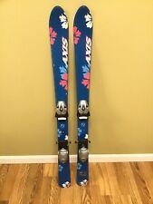 "Axis Downhill Skis w/Fischer Fulldiagonal Bindings Youth Kids 43"""