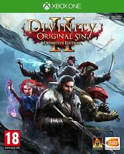 Divinity Original Sin 2 Definitive Edition XBOX ONE NEW SEALED UK/Pal