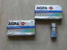 Agfa RSX 100 Professional 220, 11 FILME  Agfachrome , 07/97, Dia , Slide Film