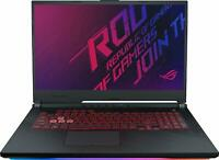 "ASUS ROG STRIX G GAMING LAPTOP 17.3""  CORE i7-9750H 8GB-512GB SSD GL731GT-RB73"