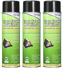 (3)PACK - Nu-Calgon Evap Foam No Rinse Evaporator Aerosol Coil Cleaner # 4171-75