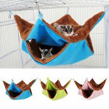Ferret Rat Squirrel Pet Bird Hamster Hammock Hanging Cage Nest Bed Sleep Sack Us