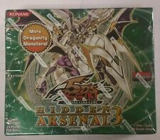Yugioh First Edition Hidden Arsenal 3 English Booster Box 1st edition . L@@K