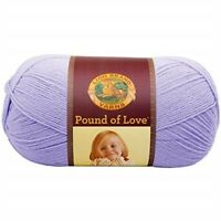 Lion Brand Acrylic Pound Of Love Baby Yarn-lavender - Yarnlavender