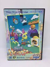 DYNAMITE HEADDY Complete Sega Megadrive Japan Jpn