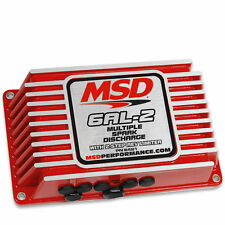 MSD 6AL-2 Ignition Box MSD Digital 6AL with 2 Step Rev Limiter Free Shipping