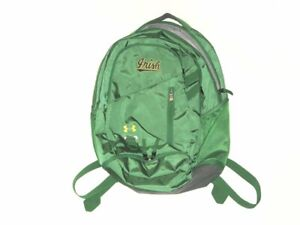TOMMY KRAEMER TEAM ISSUED SIGNED NOTRE DAME FIGHTING IRISH UNDER ARMOUR BACKPACK