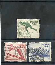 GERMANY Sc B79-81(MI 600x-02x)F-VF USED 1935 OLYMPICS SET $21