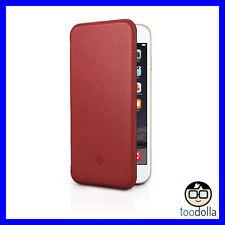 TWELVE SOUTH SurfacePad, Slim Premium Leather Cover, iPhone 6 Plus/6s Plus, Red