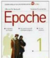 EPOCHE 1, De Bernardi Guarracino, MONDADORI BRUNO, cod. 9788842435839