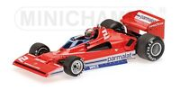 MINICHAMPS 780001 780002 BRABHAM ALFA ROMEO BT 45C F1 car Lauda & Watson 1:43rd