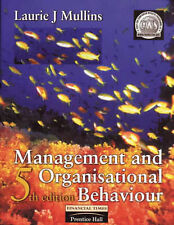 Management and organisational behaviour by Laurie J. Mullins (Paperback)