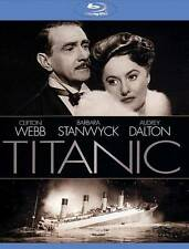 Titanic (Blu-ray Disc, 2013)  Barbara Stanwyck, Clifton Webb  NEW