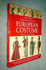 Illustrated History European Costume,Racinet,VG/VG,HB,2000,First         D