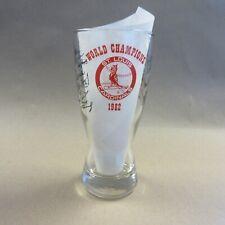St. Louis Cardinals 1982 World Series Champions Glass Season Ticket Holder