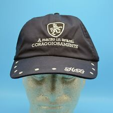 "Italian Cap with Ear Flaps Racing? HB ""March forward courageously ever to win"""